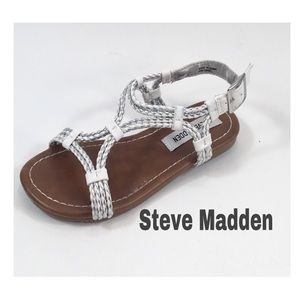 Steve Madden Girls Corded Sandals